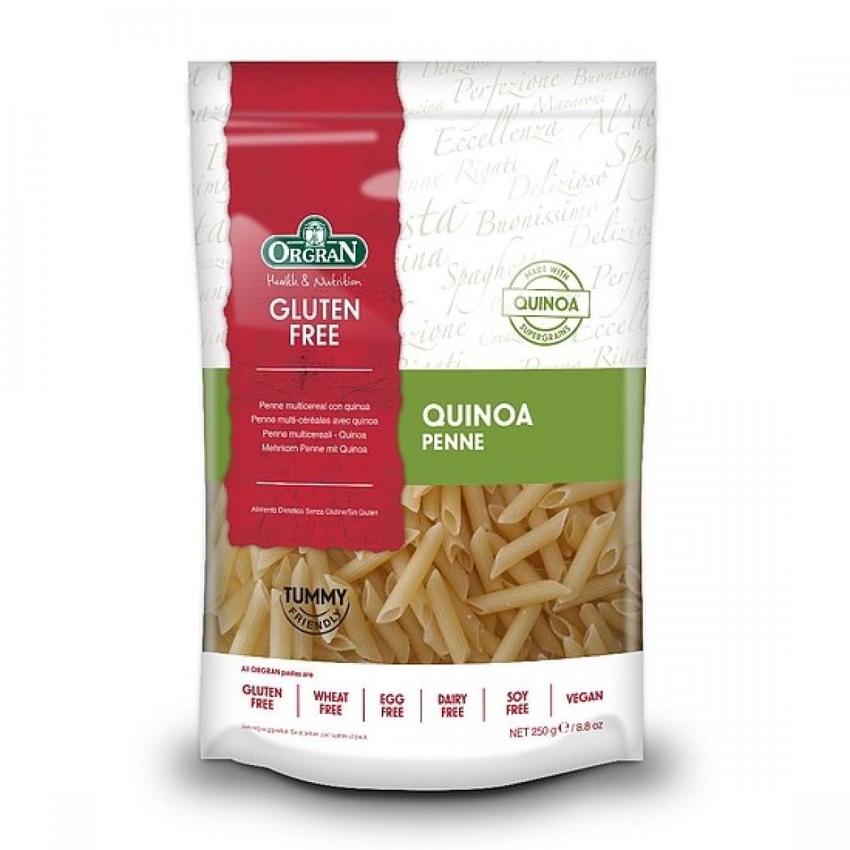 Meergranen Penne Met Quinoa