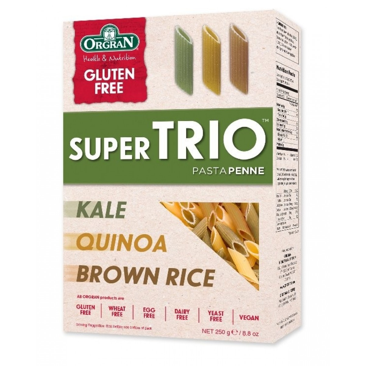 Super Trio Pasta Penne