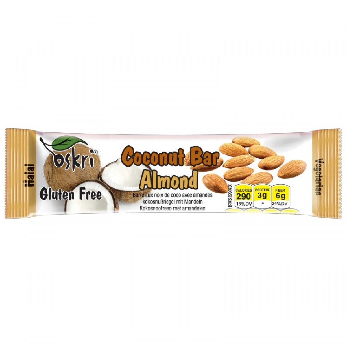 Coconut Bar Almond
