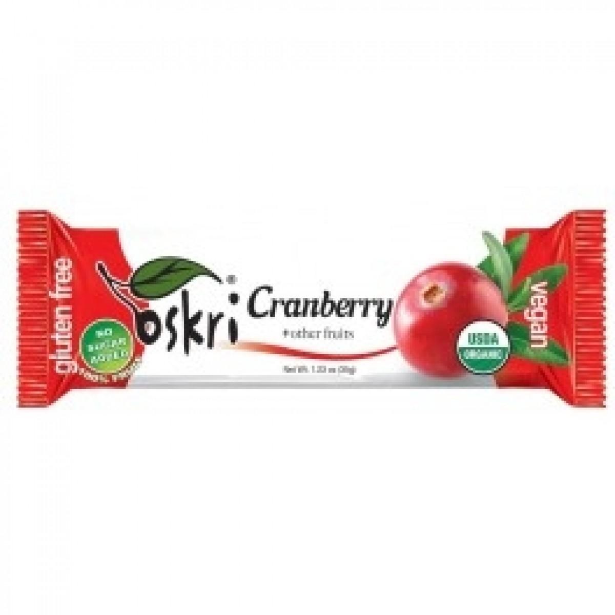 Cranberry Fruit Bar