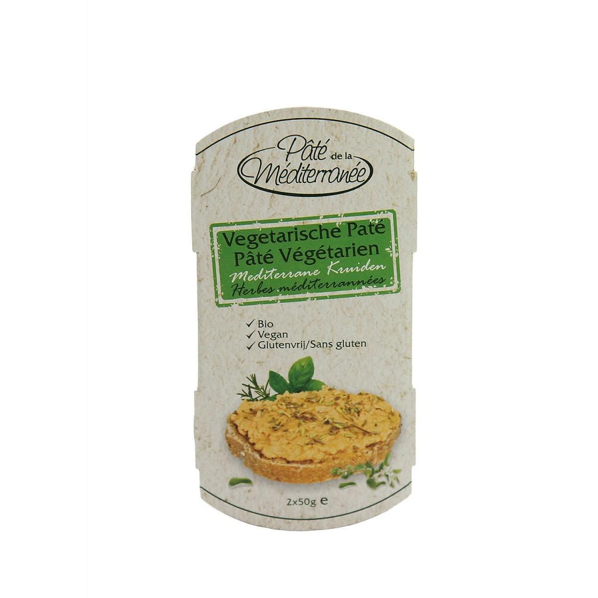 Vegetarische Paté Mediterrane Kruiden