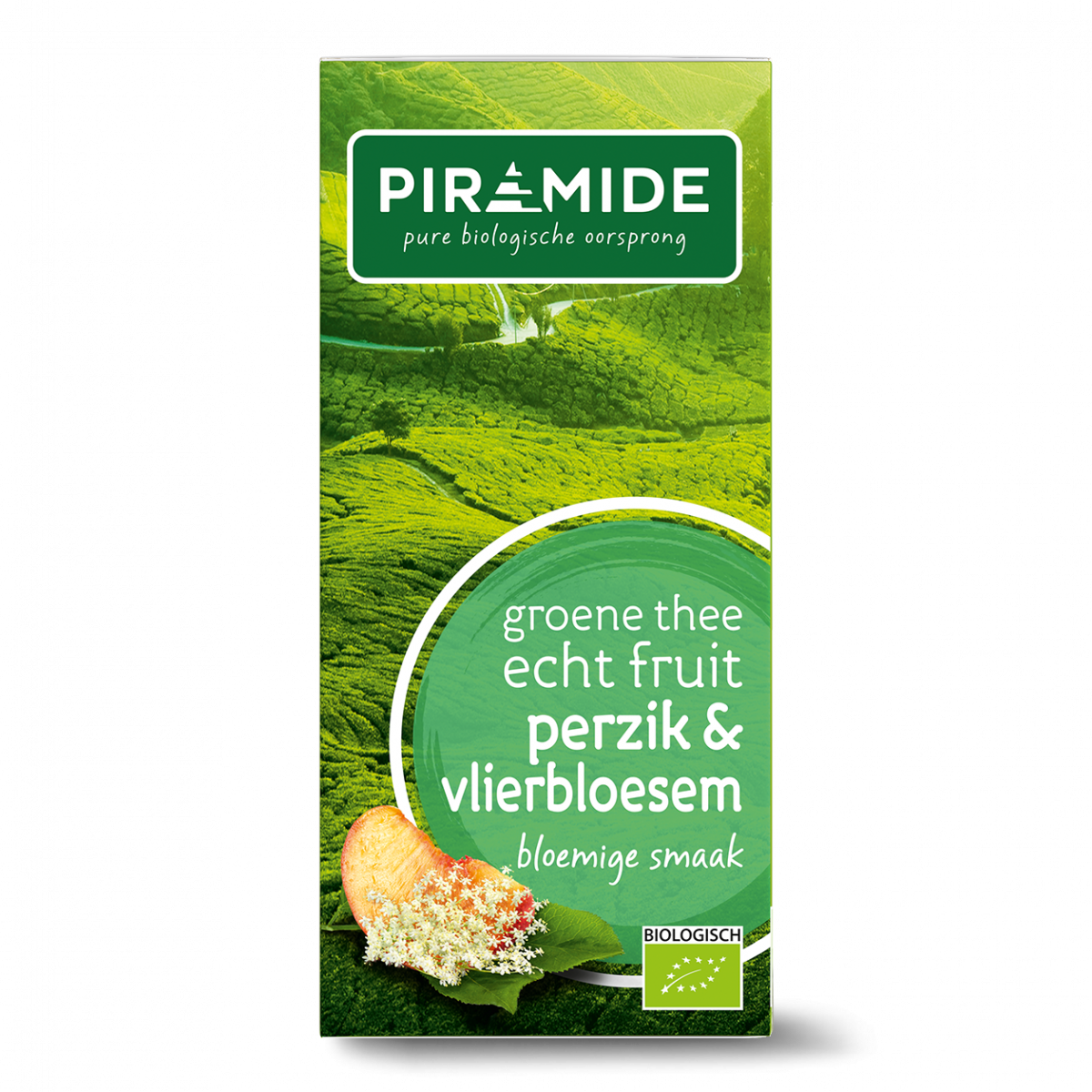 Groene Thee Perzik & Vlierbloesem