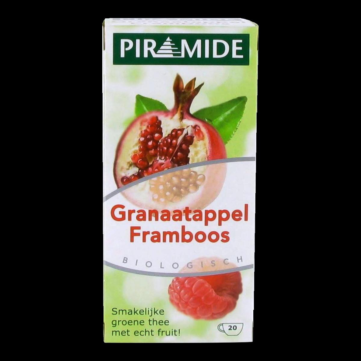 Granaatappel Framboos Thee