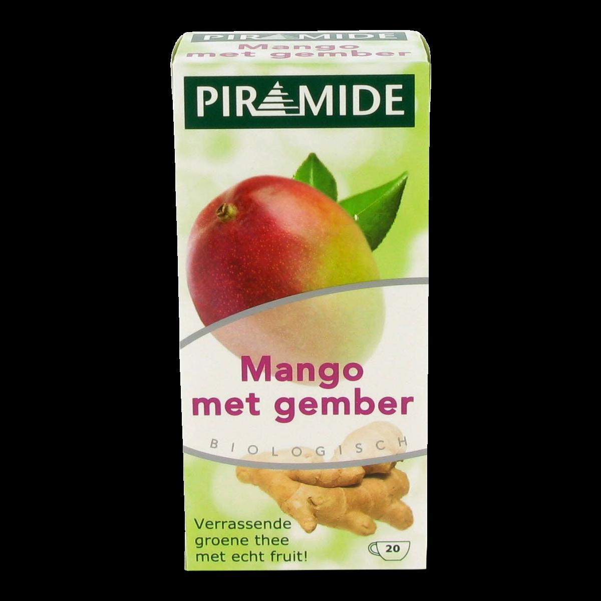 Mango Met Gember Thee