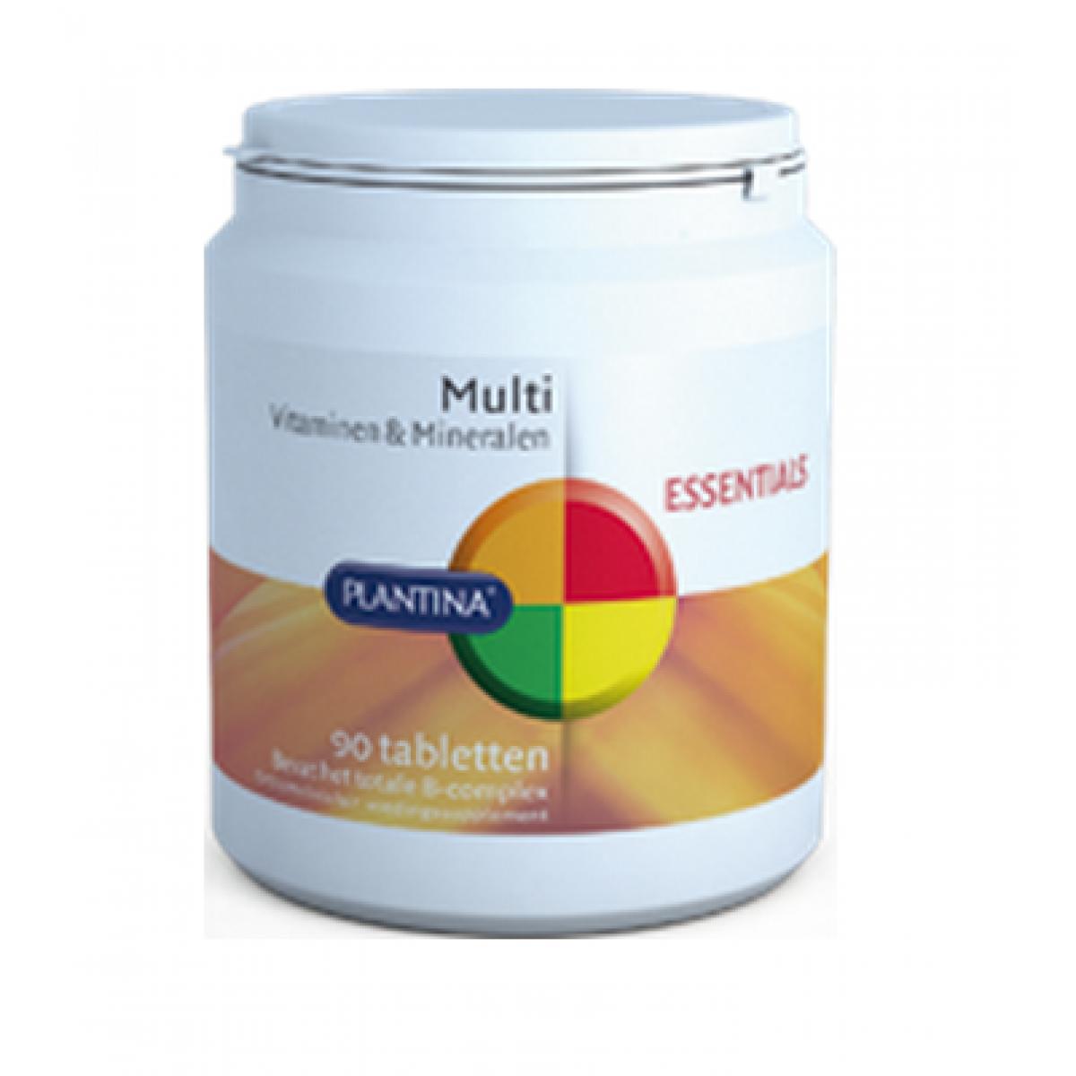 Multi Vitaminen & Mineralen 90 Tabletten