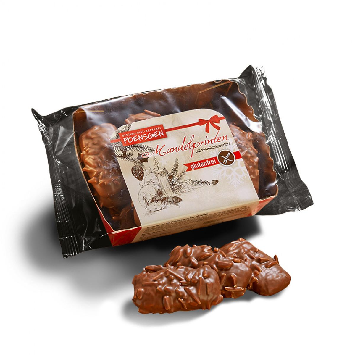 Amandelkoekjes Melkchocolade