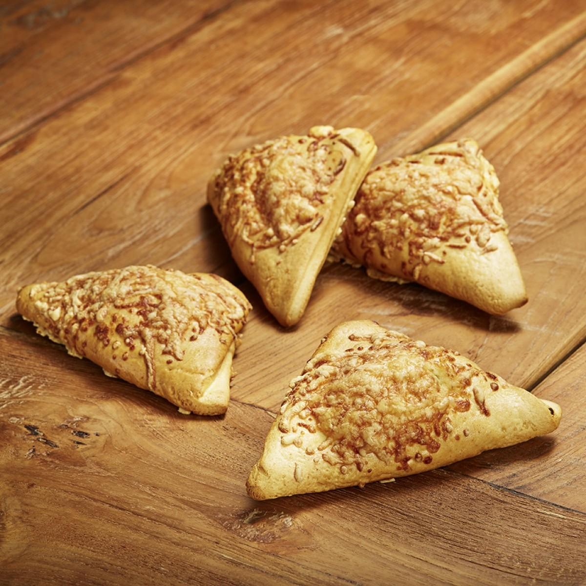 Ham-Kaas Broodjes (4 stuks)