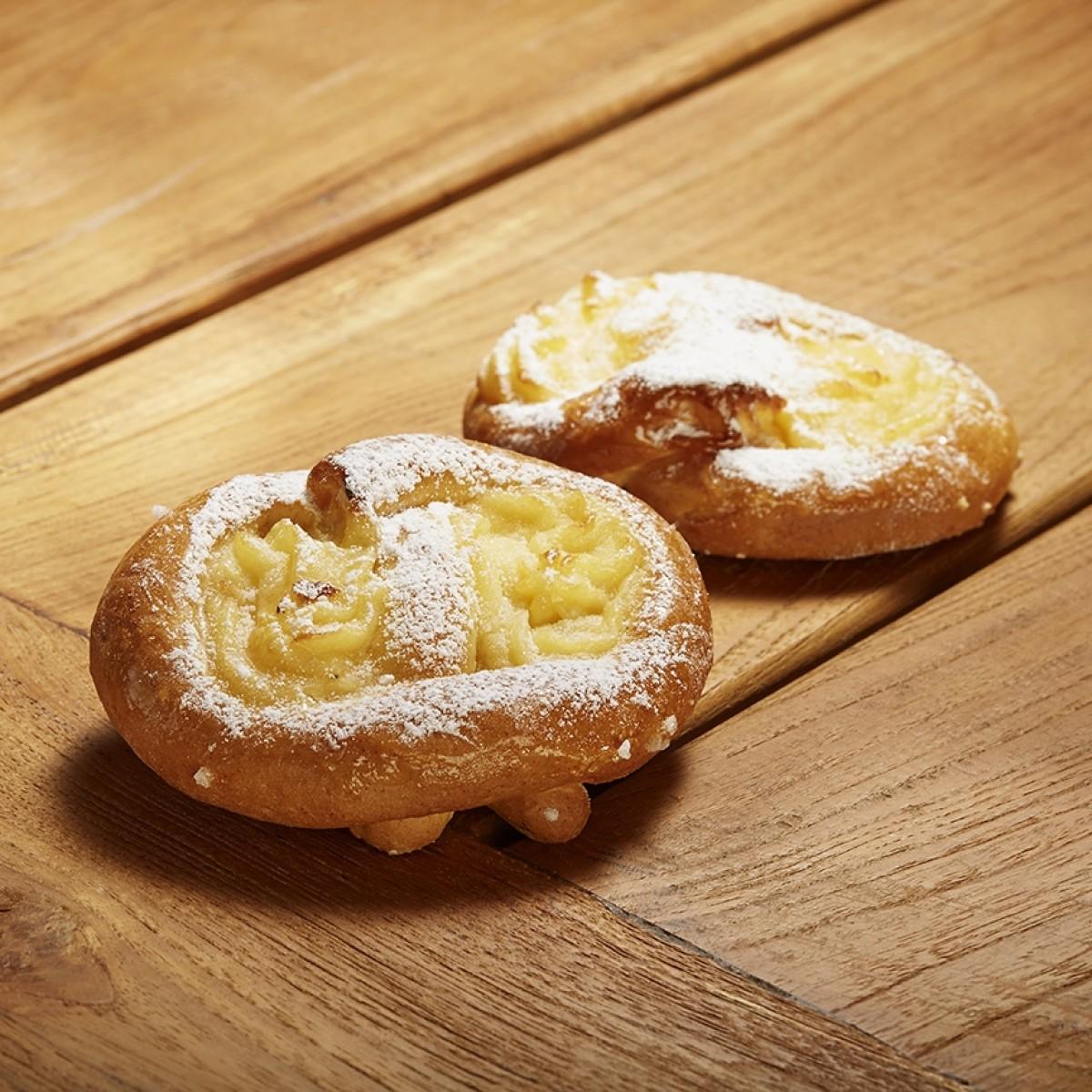 Pudding Broodjes (4 stuks)