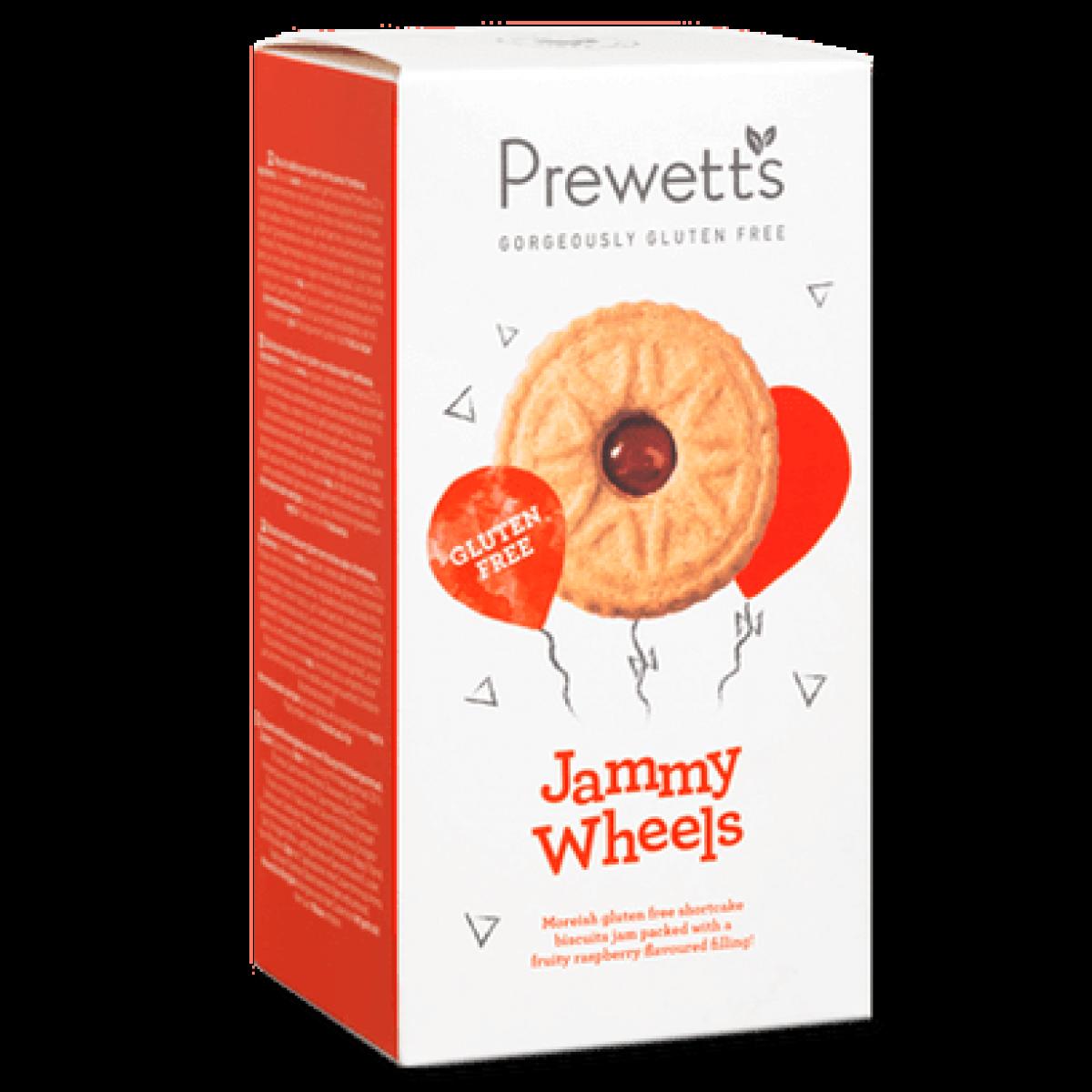 Jammy Wheels Cookies