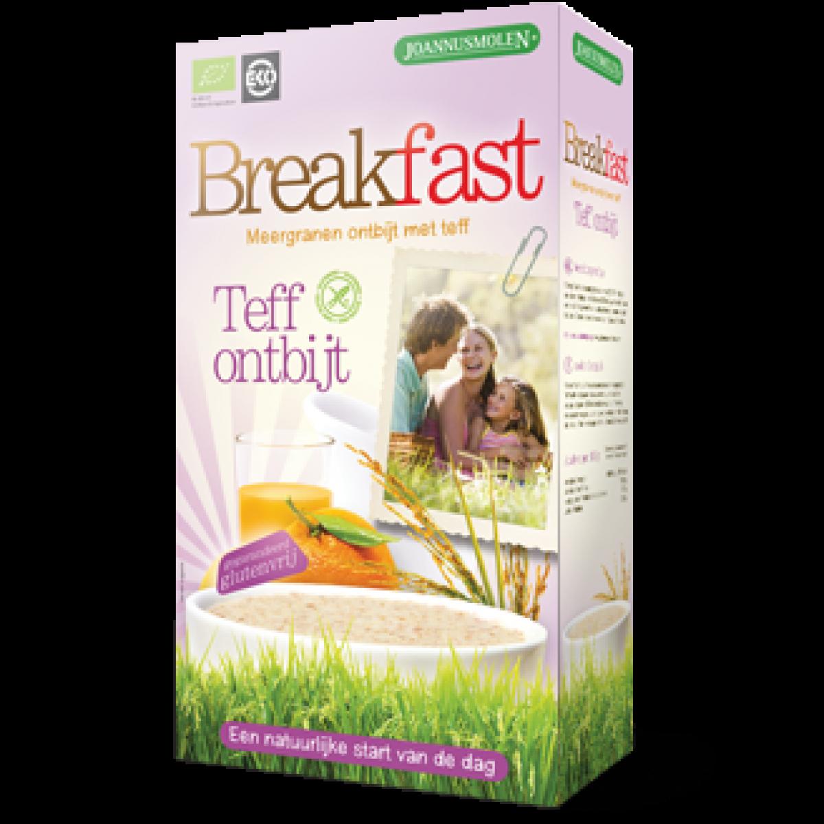 Meergranen Ontbijt Met Teff