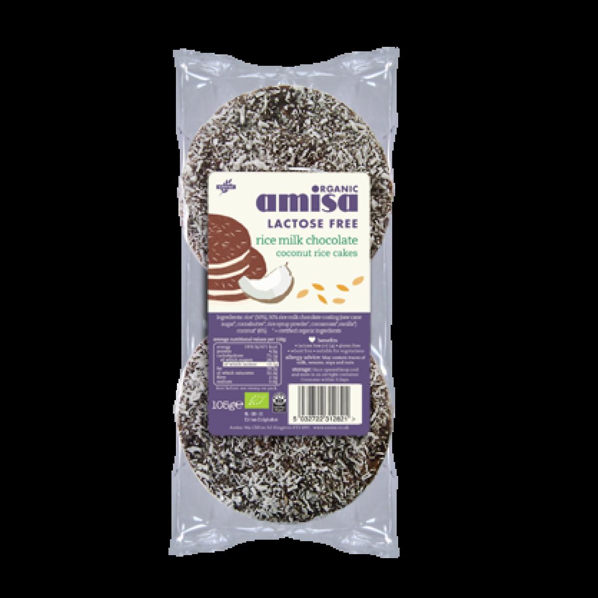 Rijstwafels Rijstmelk Kokos Chocolade