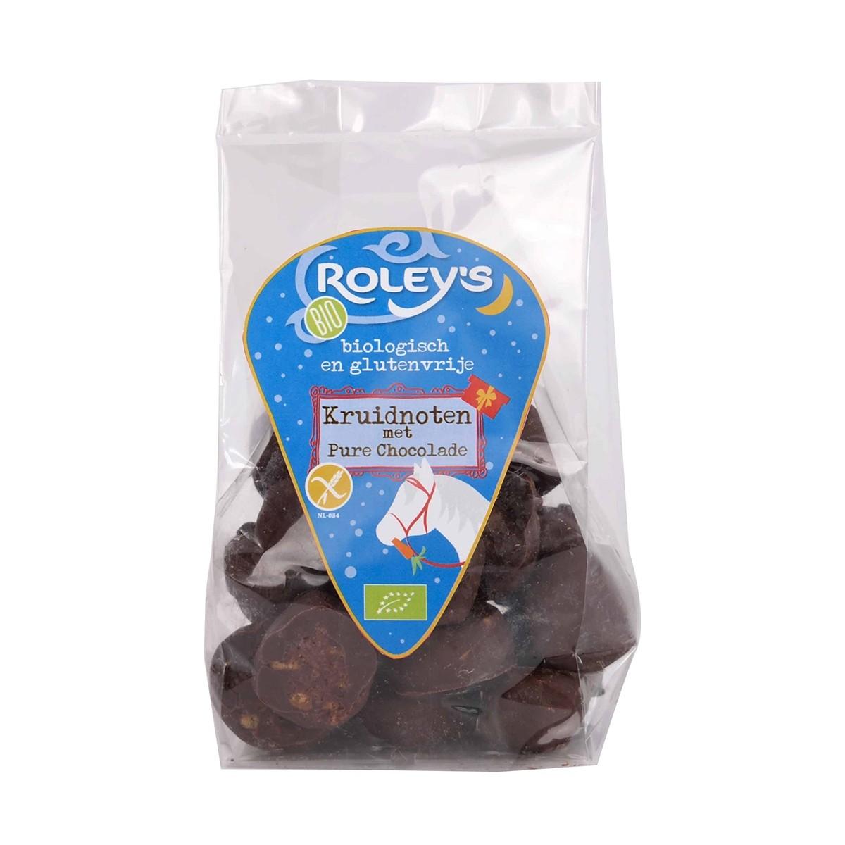 Kruidnoten Met Pure Chocolade
