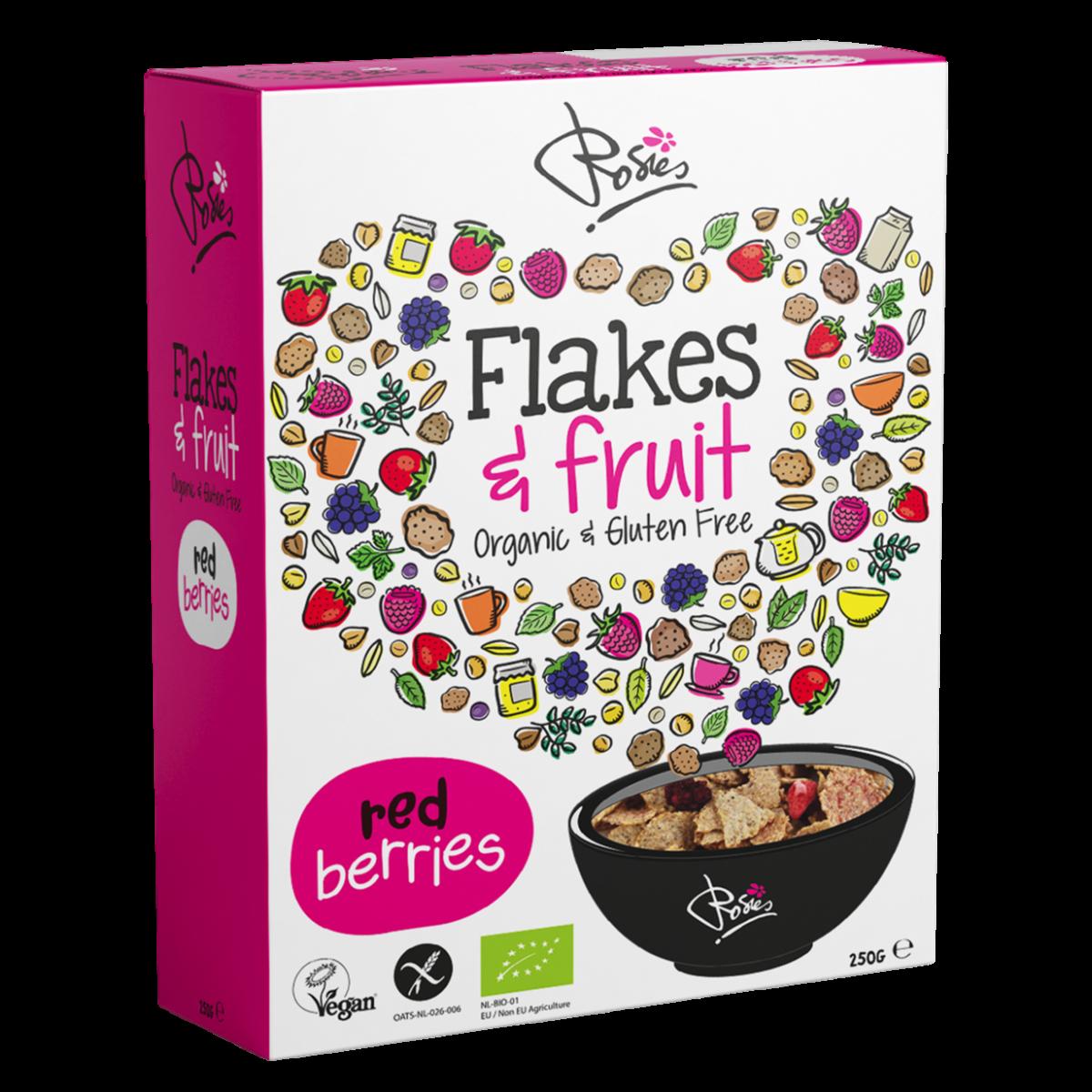 Flakes & Fruit Red Berries Biologisch