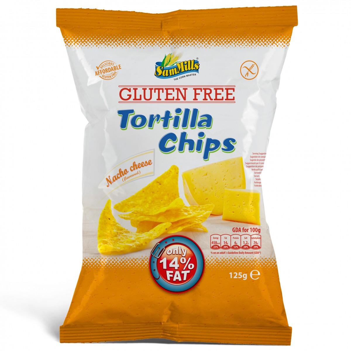 Tortilla Chips Nacho Cheese