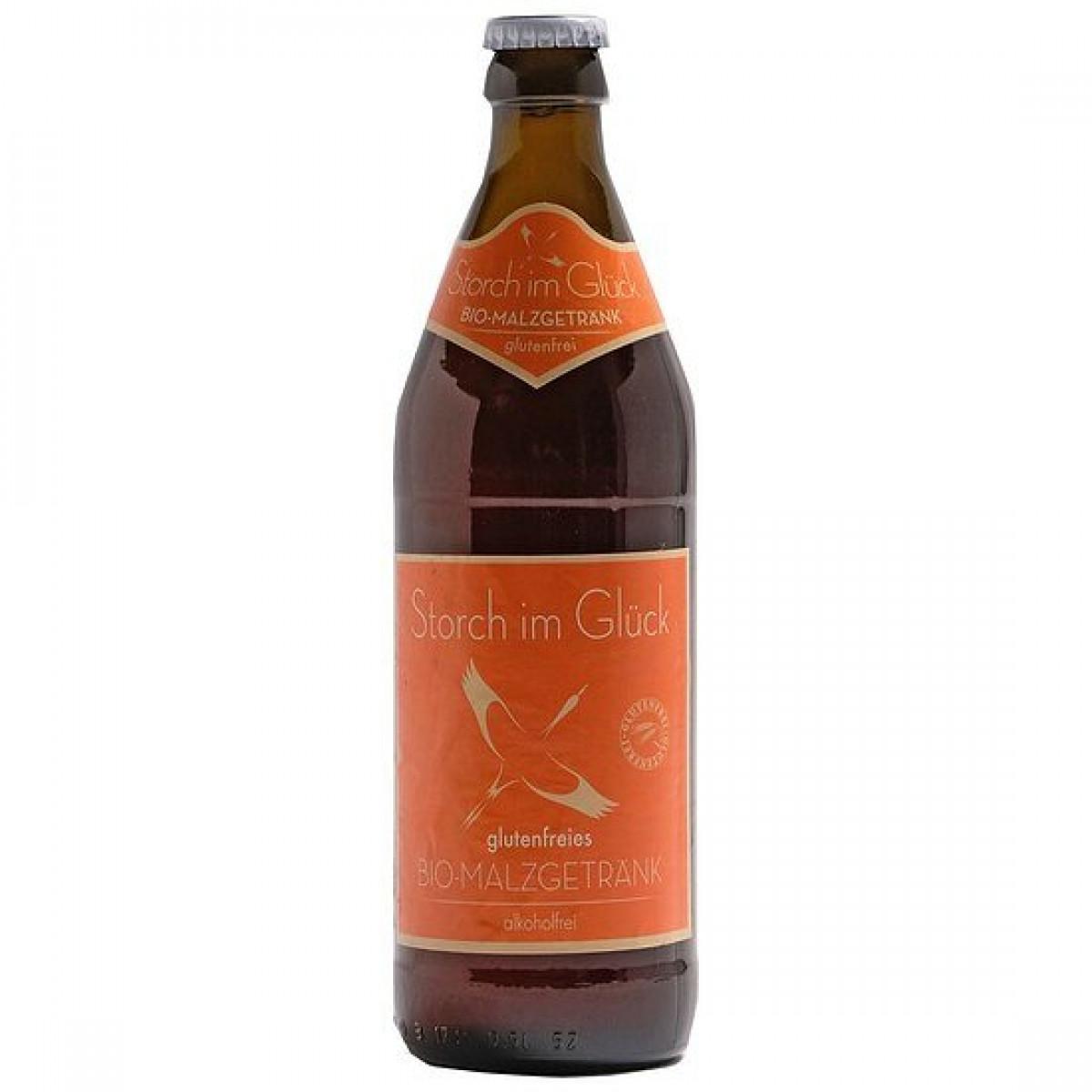 Storch im Glück Bio Malzgetränk Alcoholvrij (0.5 Liter)
