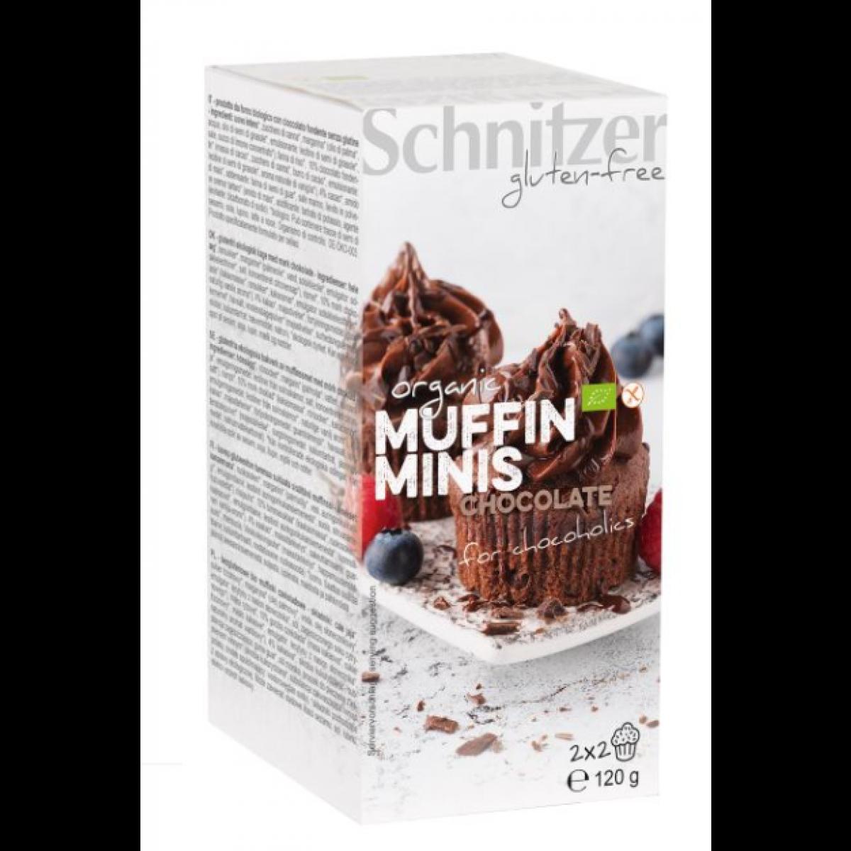 Mini Muffins Chocolade