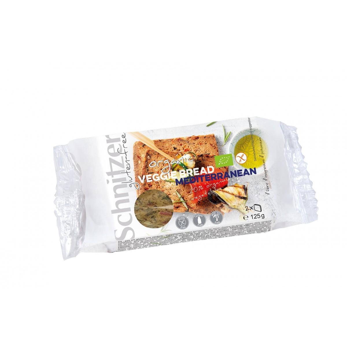 Veggie Bread Mediterranean