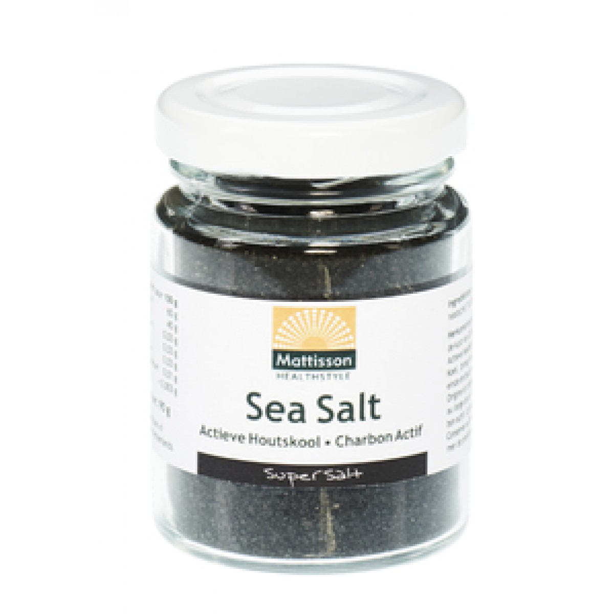 Sea Salt Actieve Houtskool