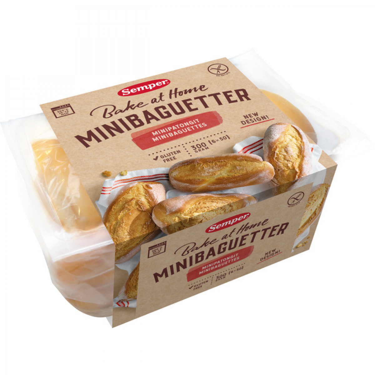 Mini-baguette Wit
