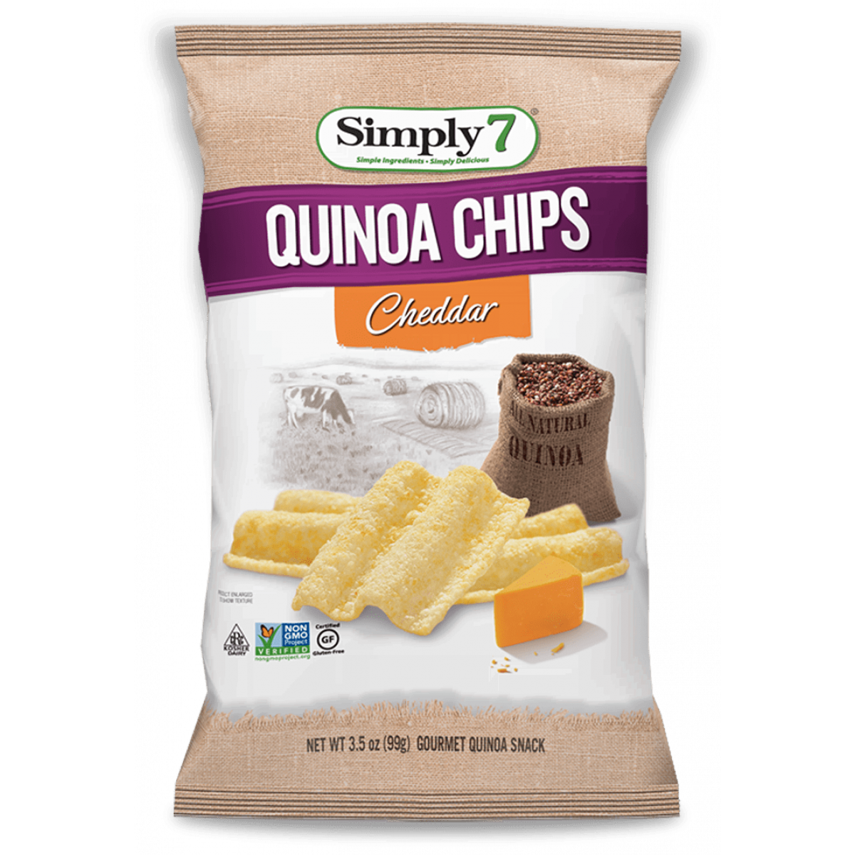 Quinoa Chips Cheddar