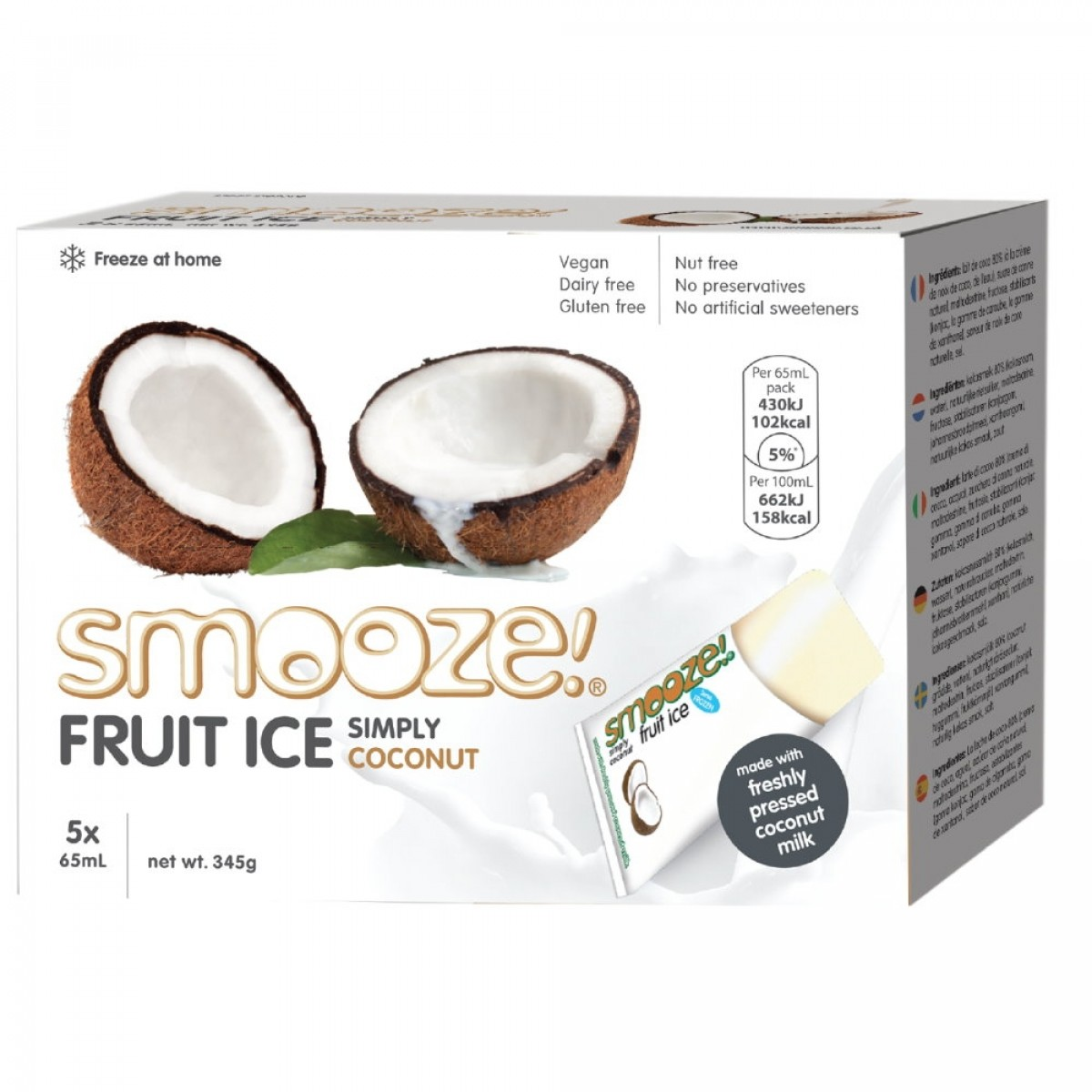 Fruit Ice Coconut