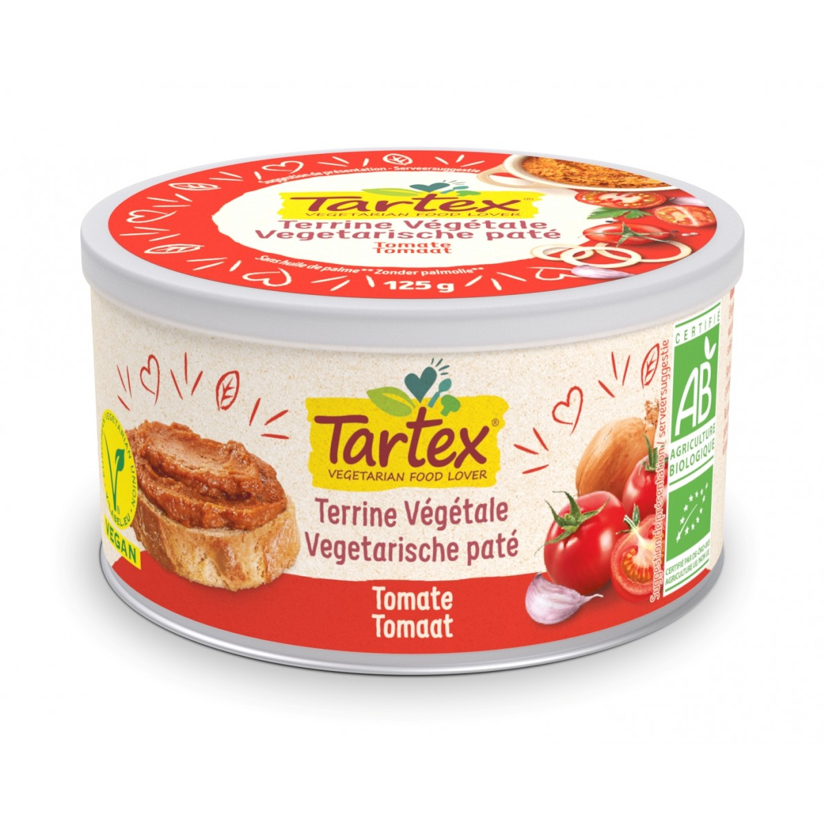 Paté Tomaat