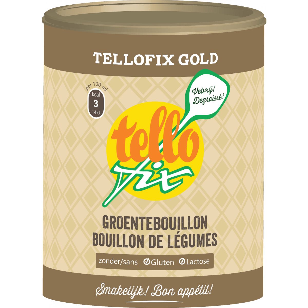 Tellofix Gold Groentebouillon 540 gram