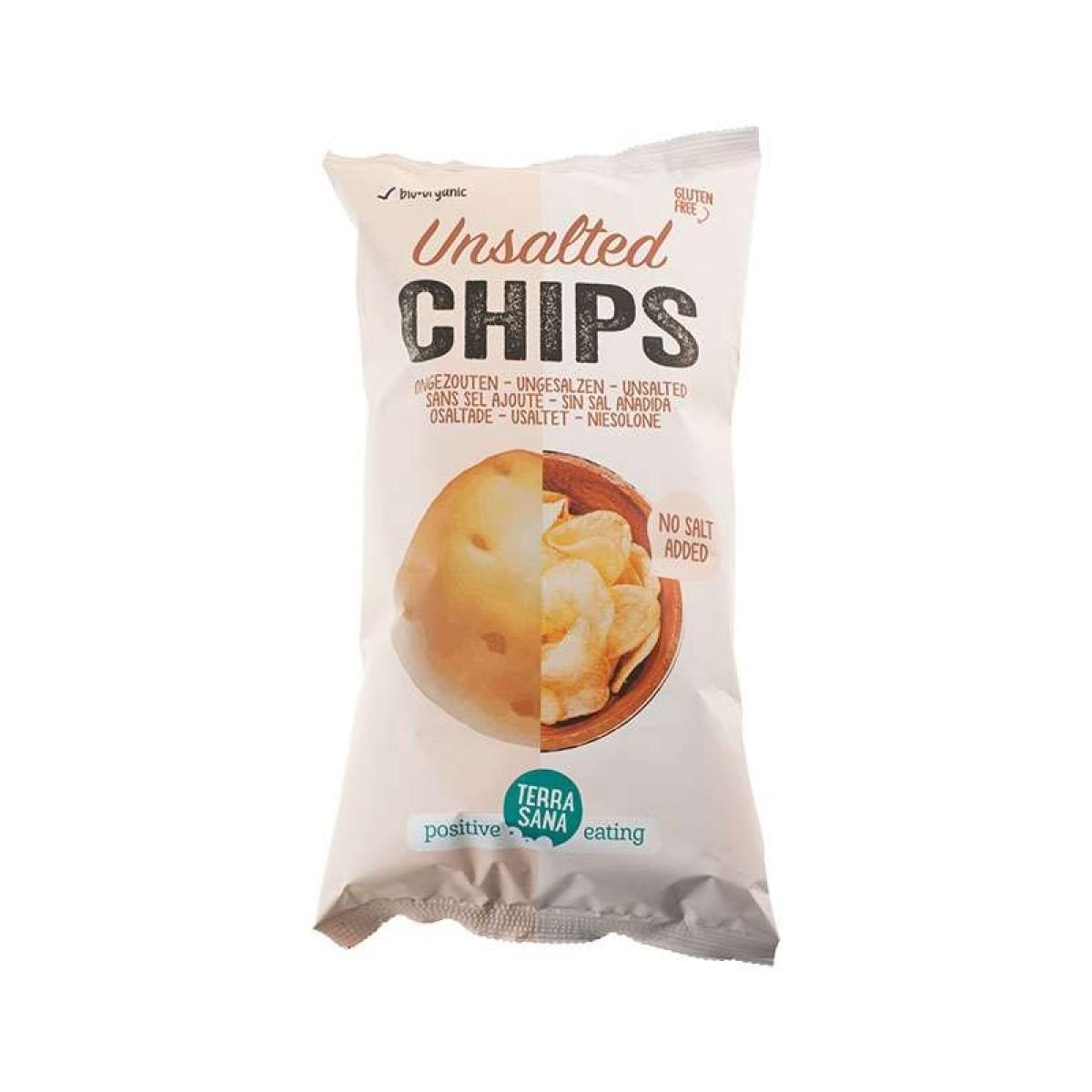 Aardappelchips Ongezouten