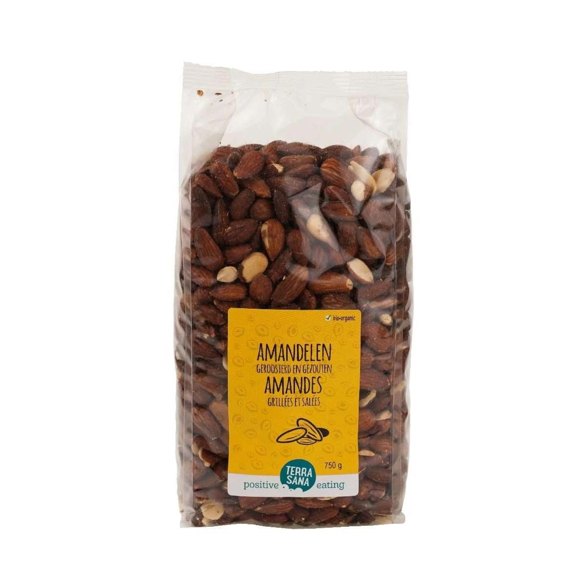 Amandelen Geroosterd & Gezouten 750 gram