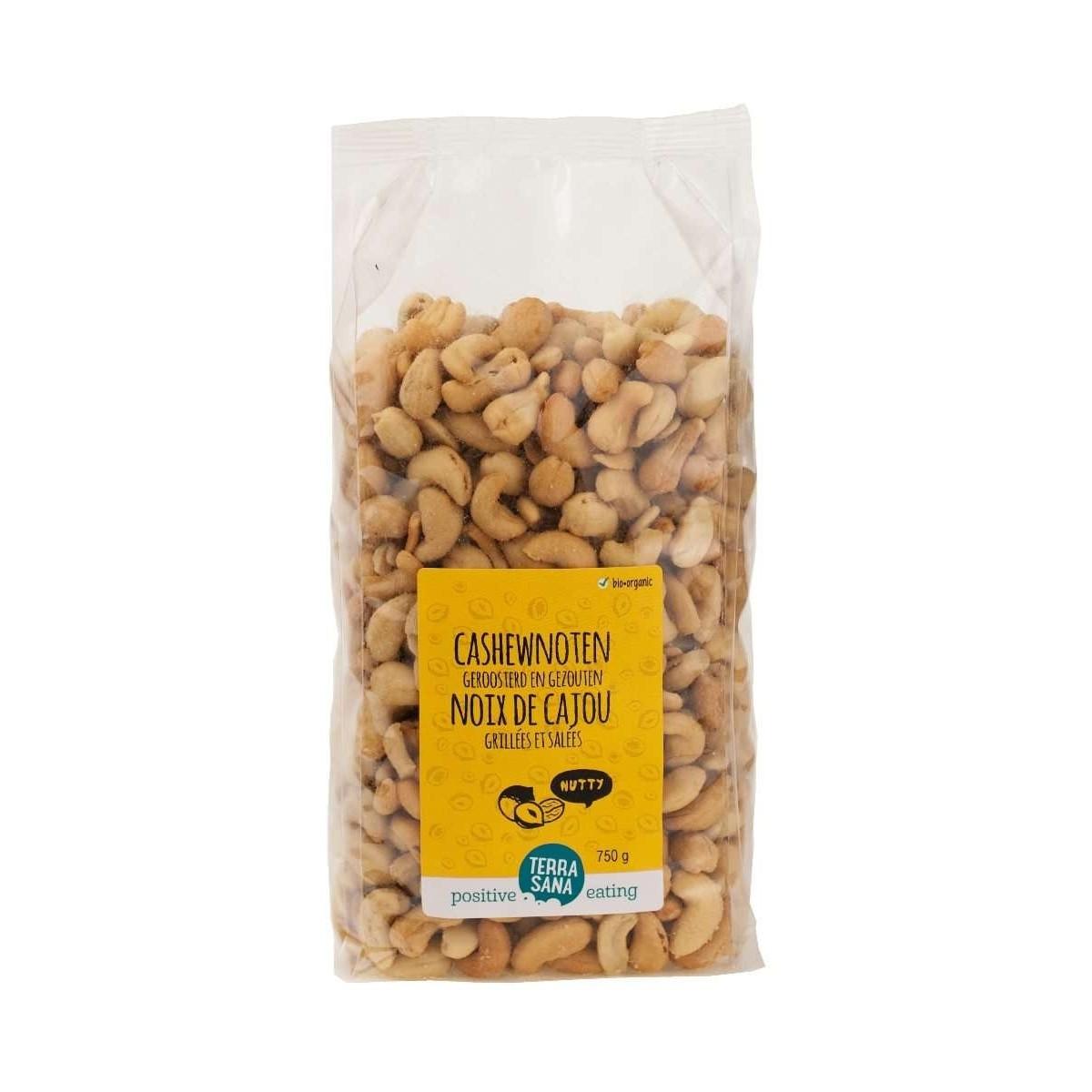 Cashewnoten Geroosterd & Gezouten 750 gram