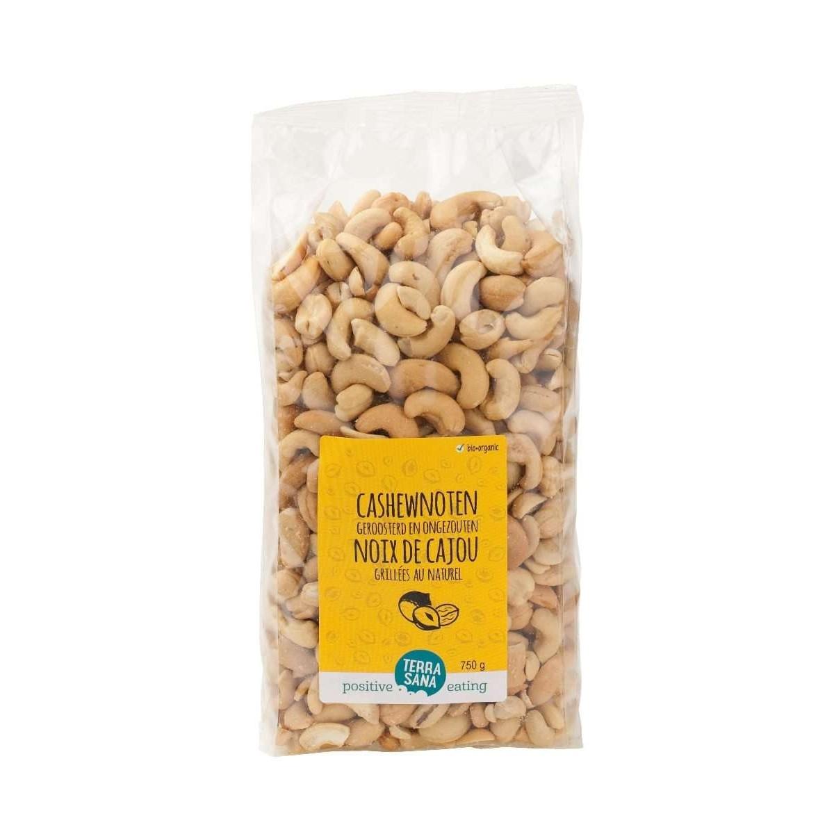 Cashewnoten Geroosterd & Ongezouten 750 gram