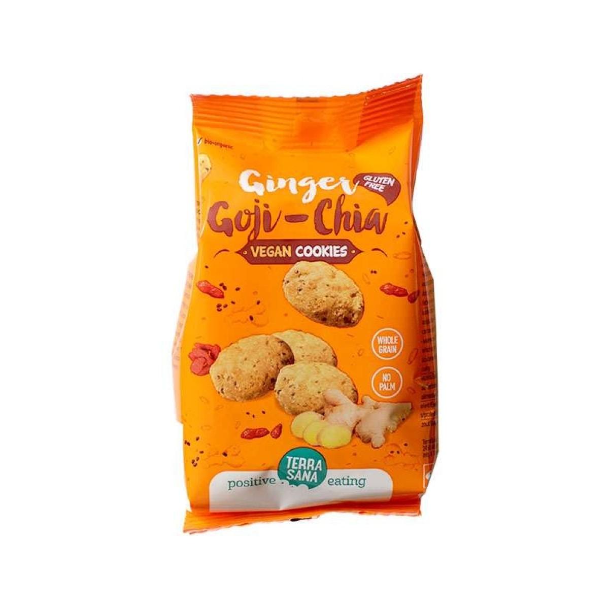 Cookies Ginger Goji Chia