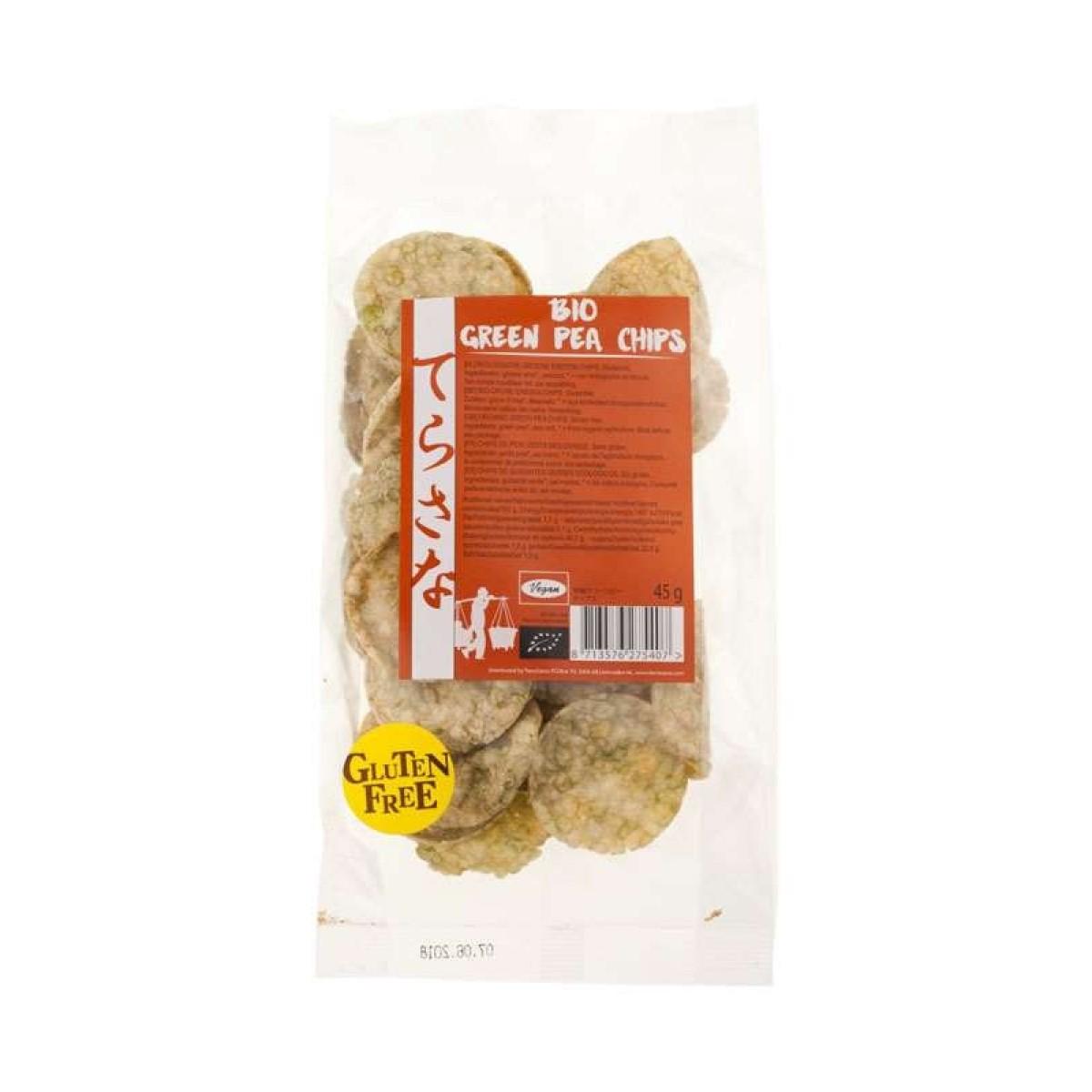 Groene Erwten Chips