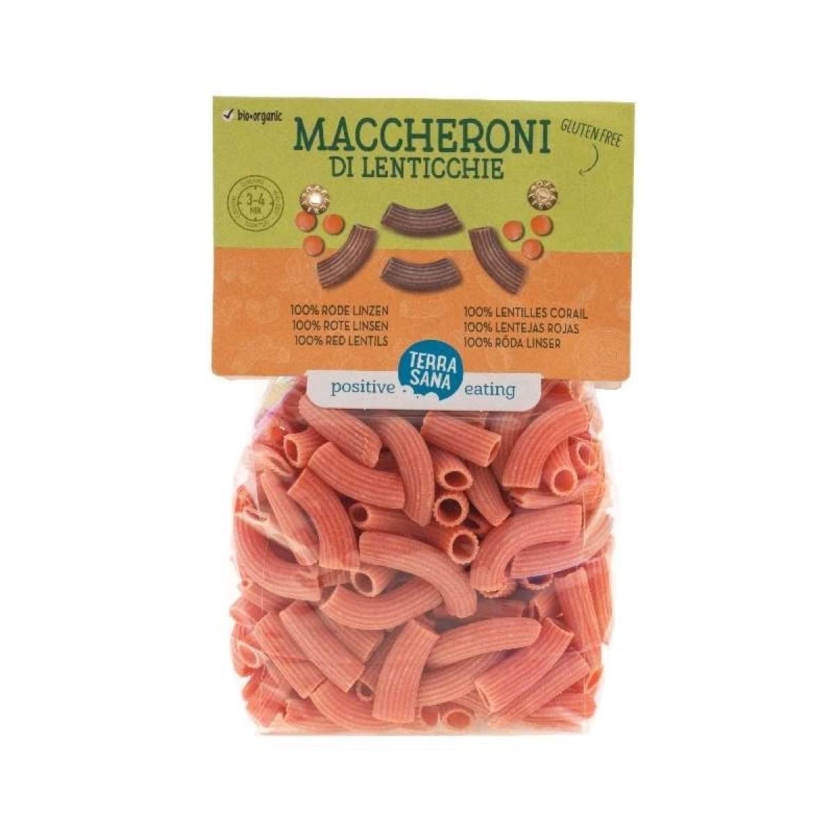 Maccheroni Di Lenticchie - 100% Rode Linzen