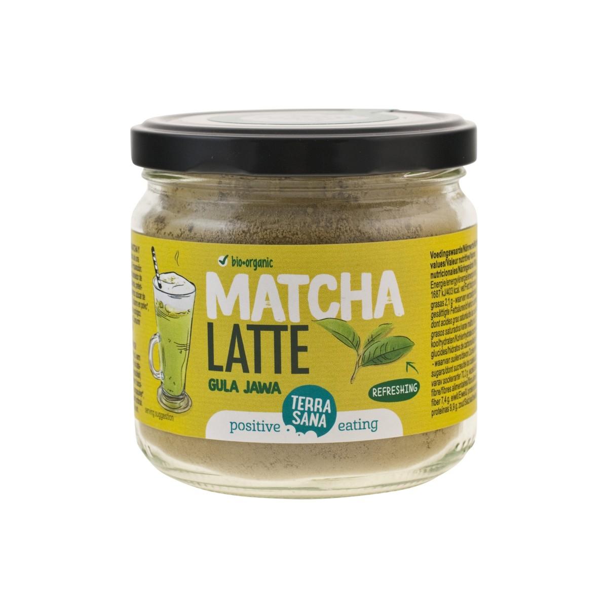 Matcha Latte Gula Java