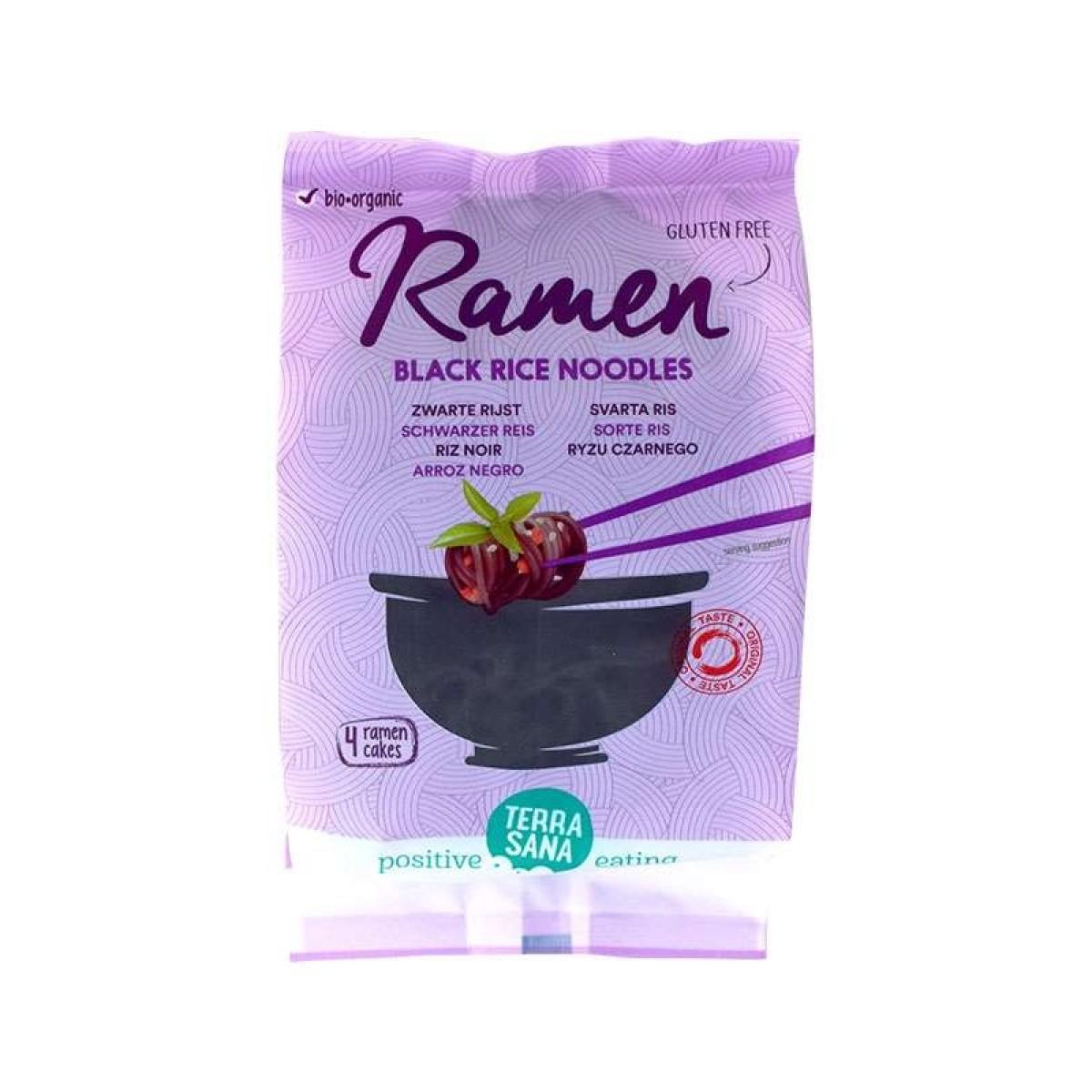 Ramen Zwarte Rijst