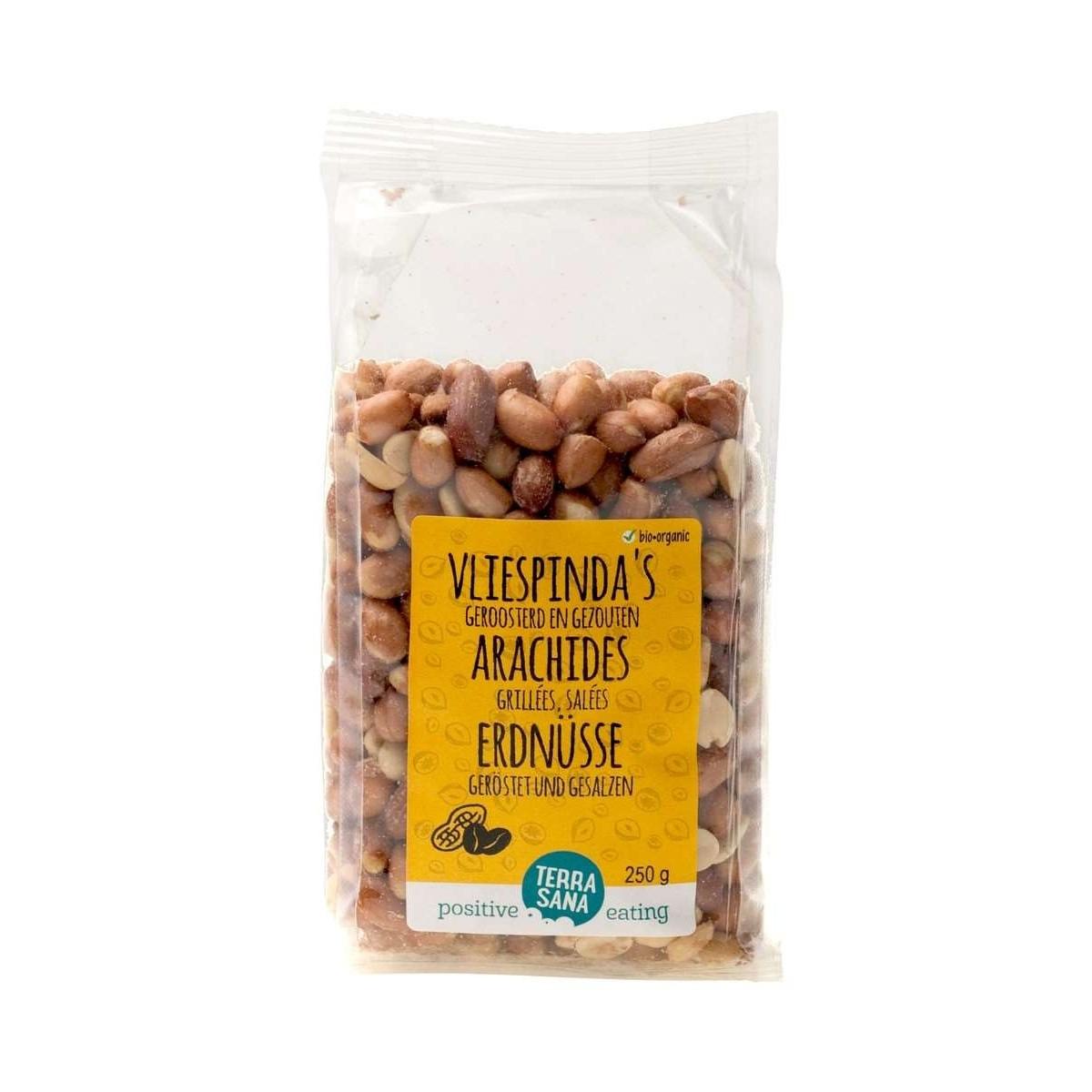 Vliespinda's Geroosterd & Gezouten 250 gram