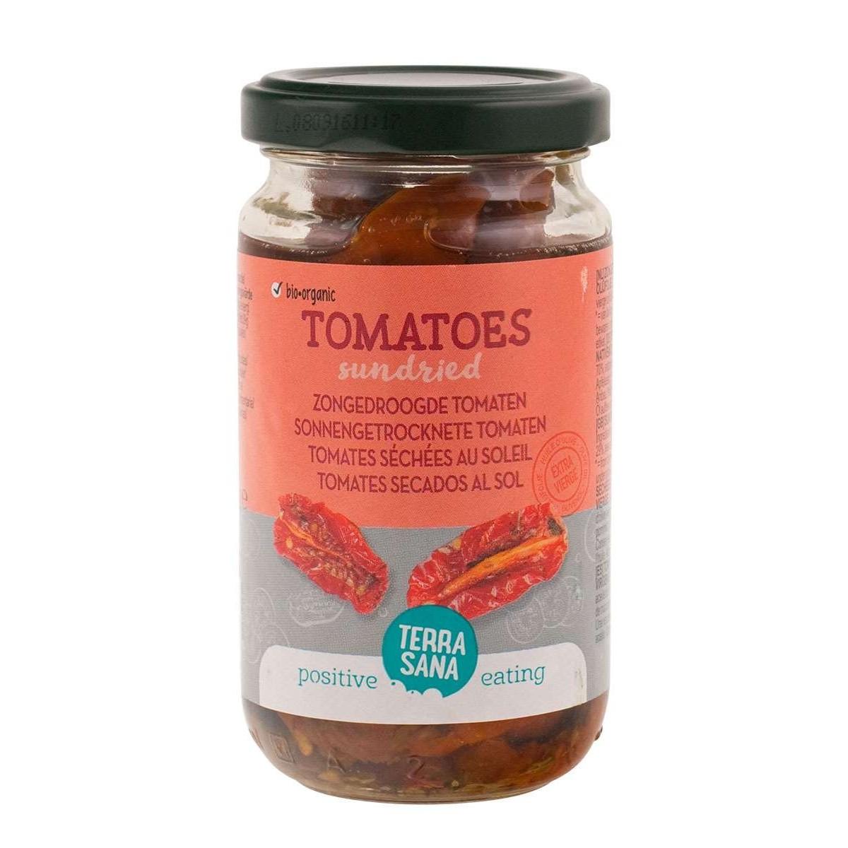 Zongedroogde Tomaten In Olijfolie