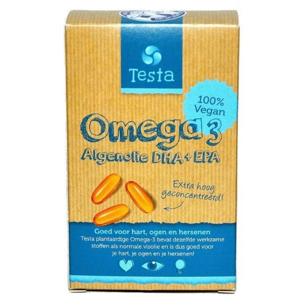 Omega-3 Algenolie DHA + EPA