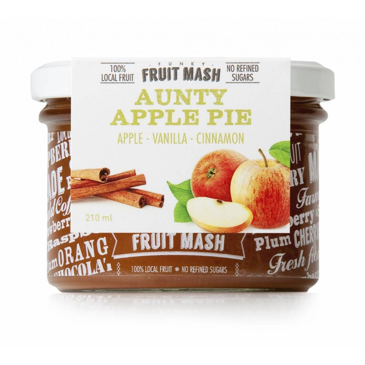 Funky Fruit Mash Aunty Apple Pie