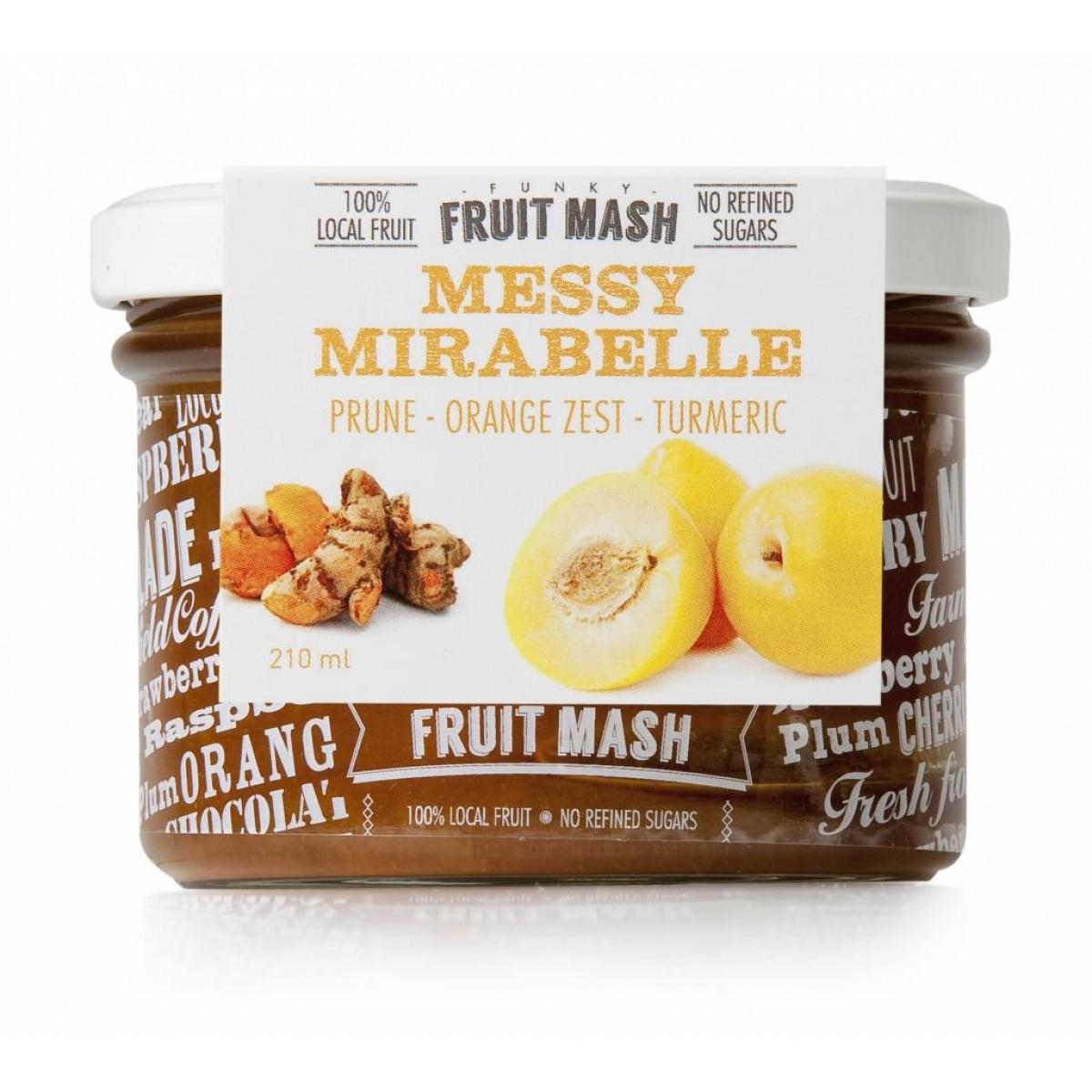 Funky Fruit Mash Messy Mirabelle