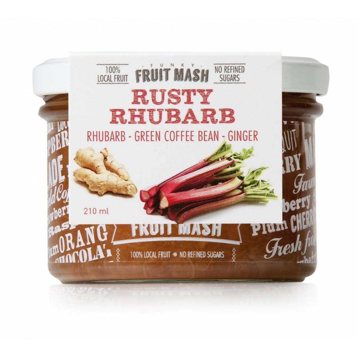 Funky Fruit Mash Rusty Rhubarb