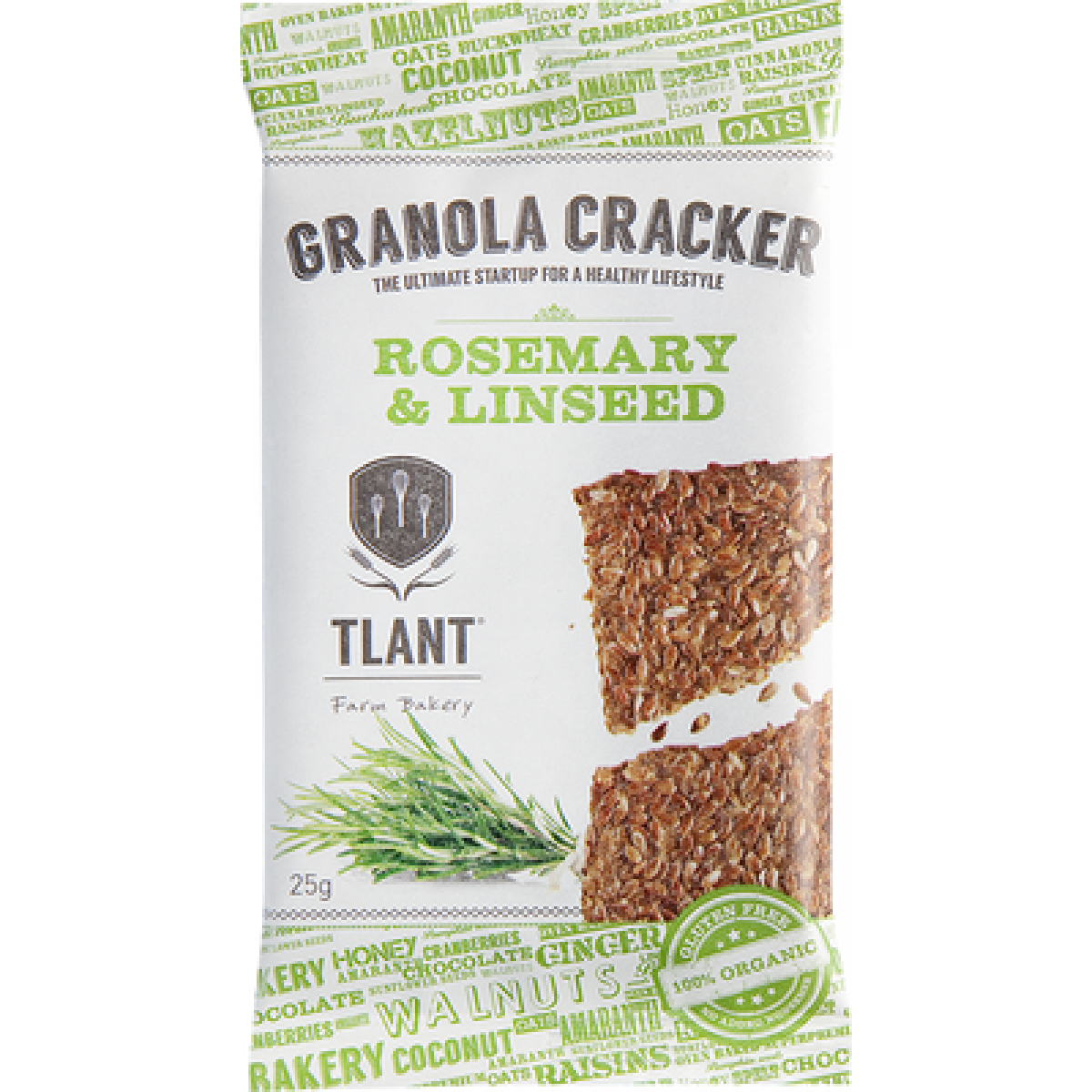 Granola Cracker Rosemary & Linseed