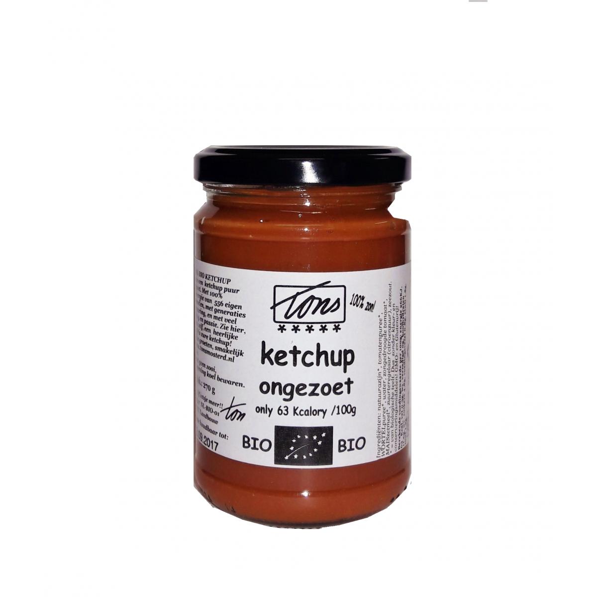 Ketchup Ongezoet