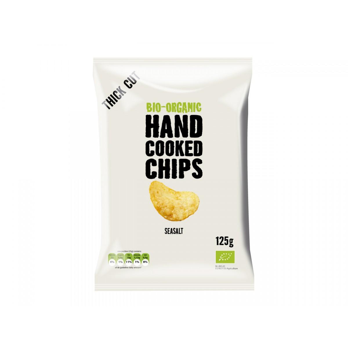 Handcooked Chips Seasalt