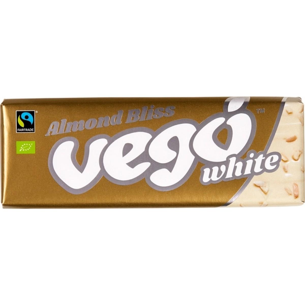 Chocoladereep Wit & Amandel