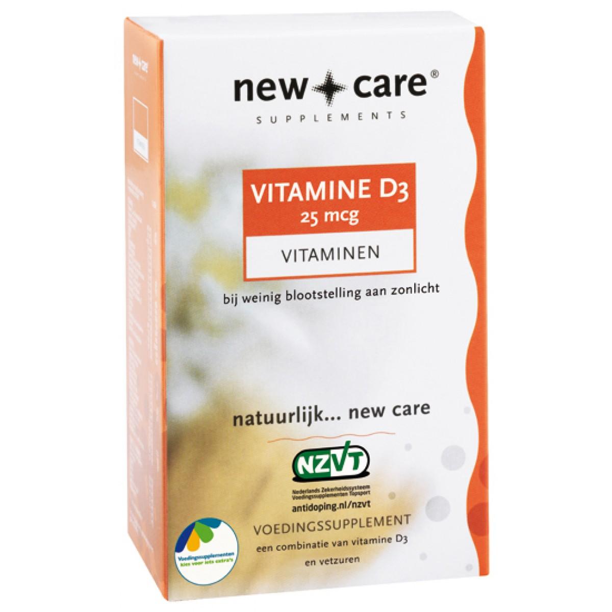 Vitamine D3 25MCG