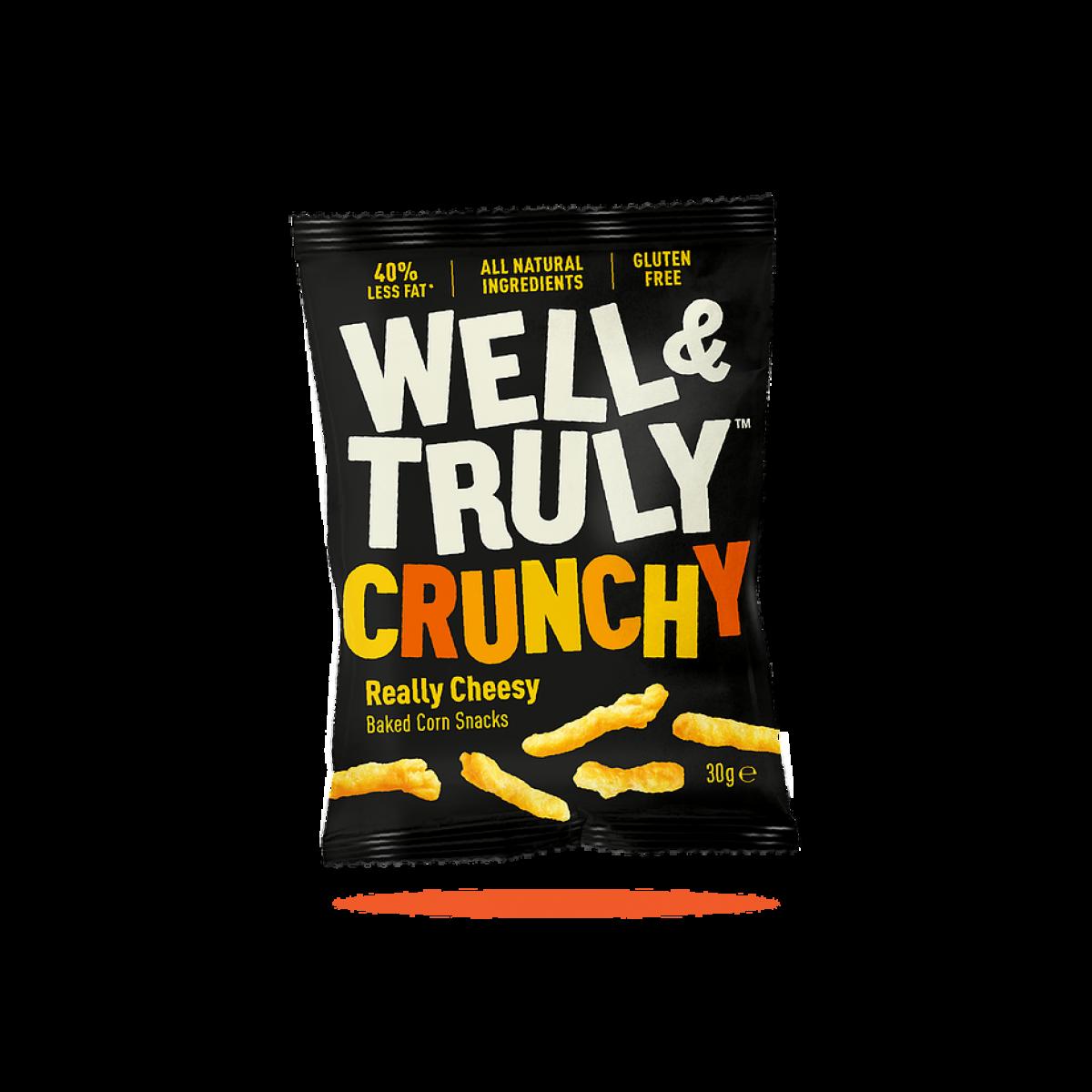 Corn Snacks Crunchy Really Cheesy
