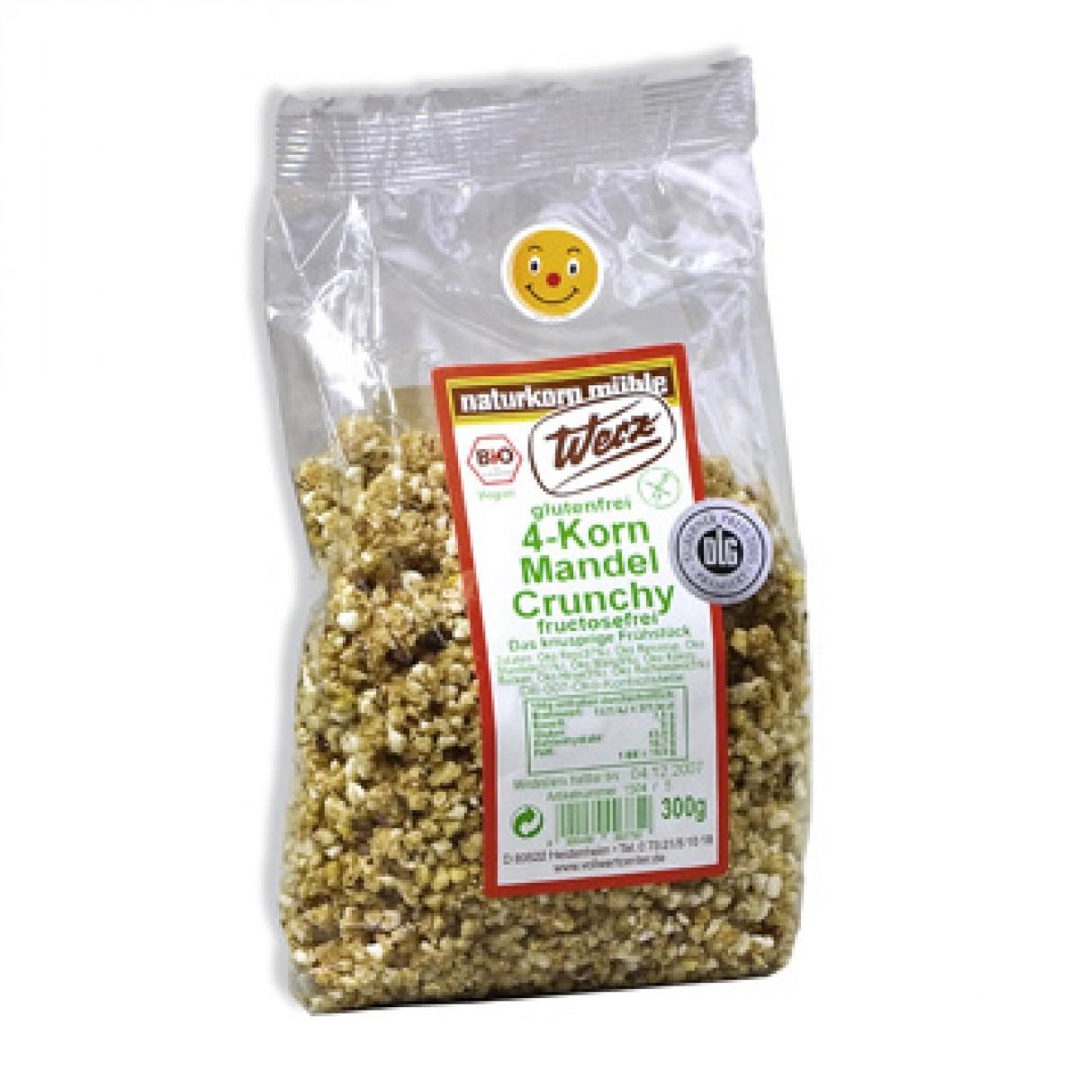 4 Koren Amandel Crunchy