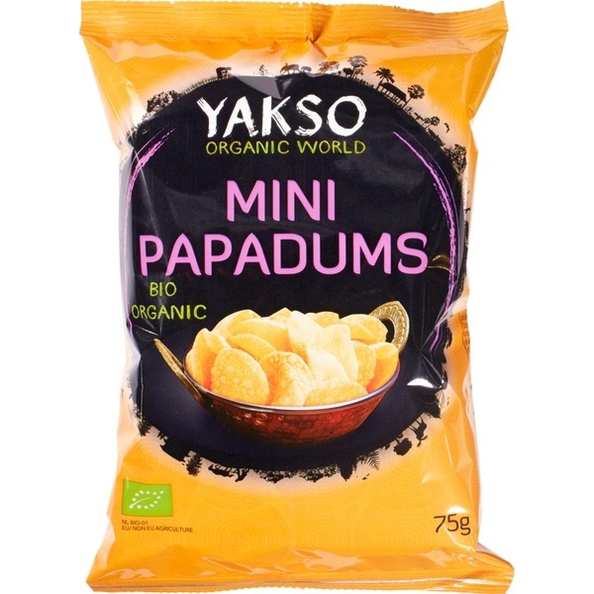 Mini Papadums